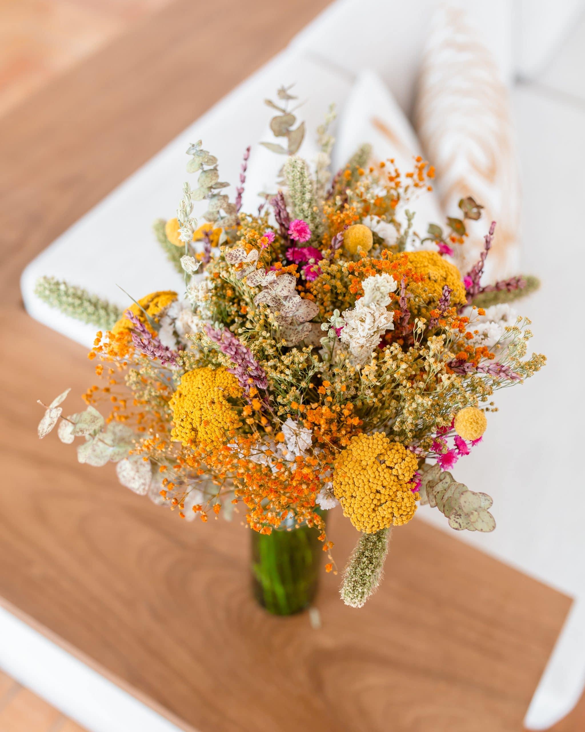 Bouquet de fleurs séchées Tossa de mar