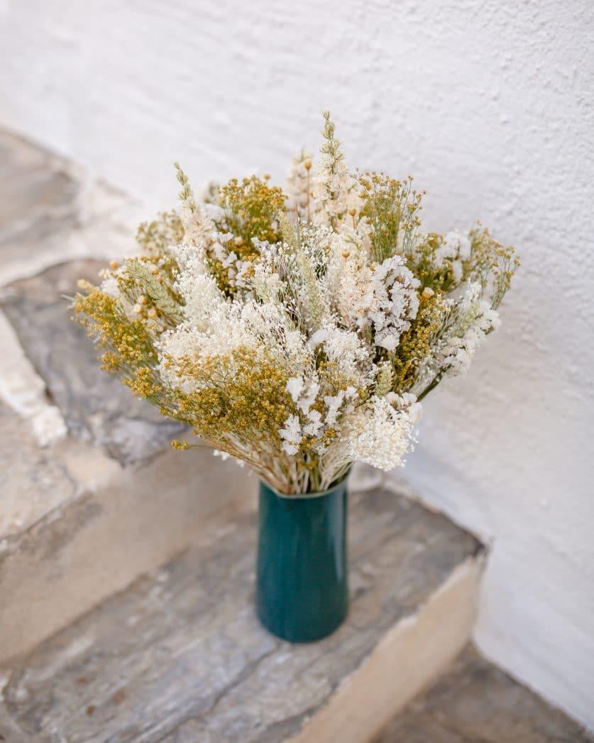 Bouquet de fleurs séchées Sa Conca Bouquet de fleurs séchées Port Lligat