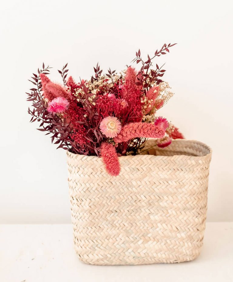 Pompon Basket