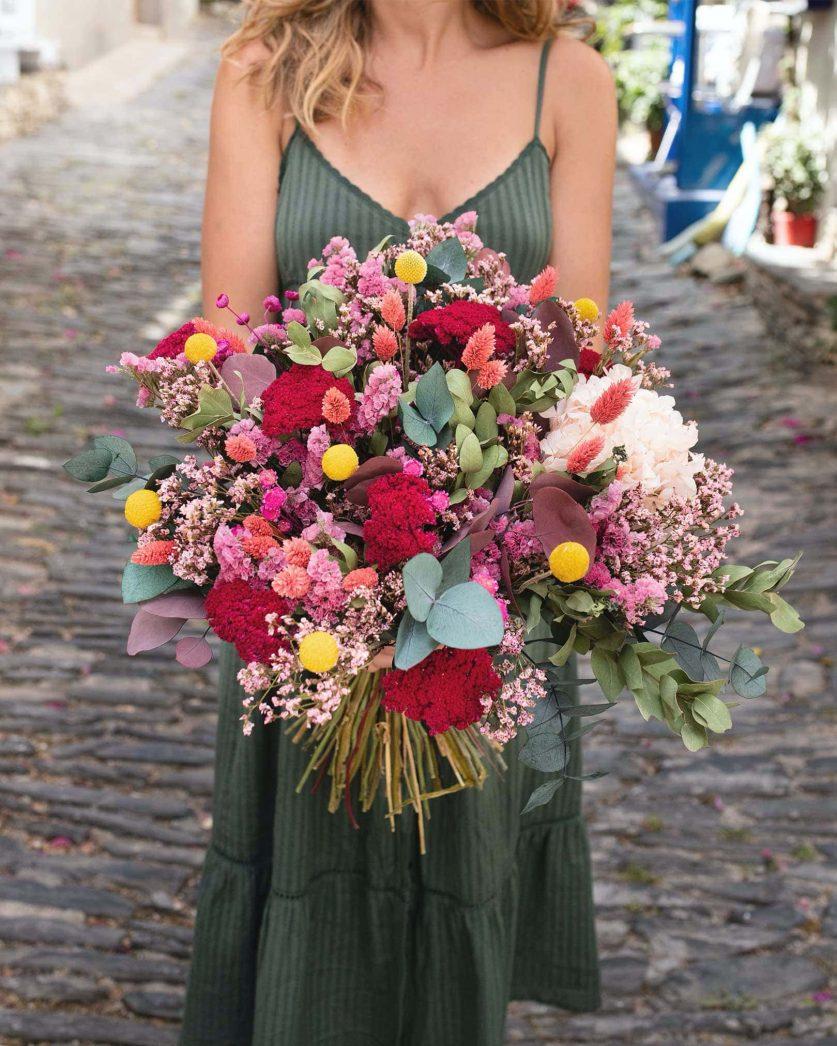 Bouquet Cala Serena Rosa Cadaqués