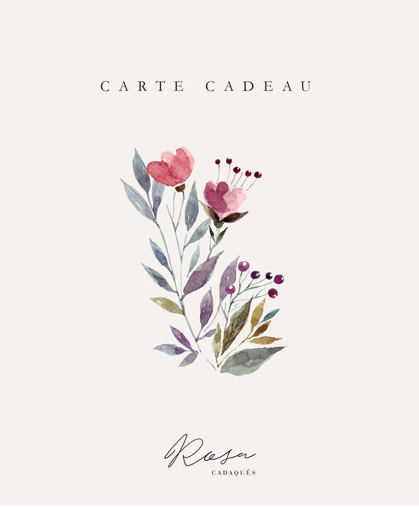 Carte cadeau Rosa Cadaqués Fleurs séchées