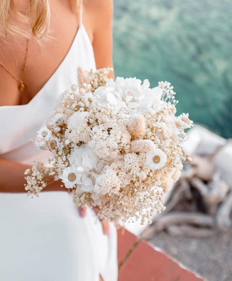 Bouquet de mariée Blanca