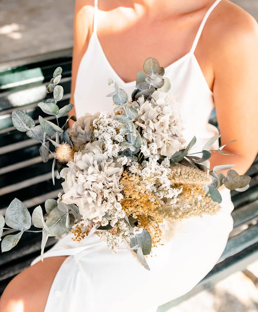 bouquet chic de mariée