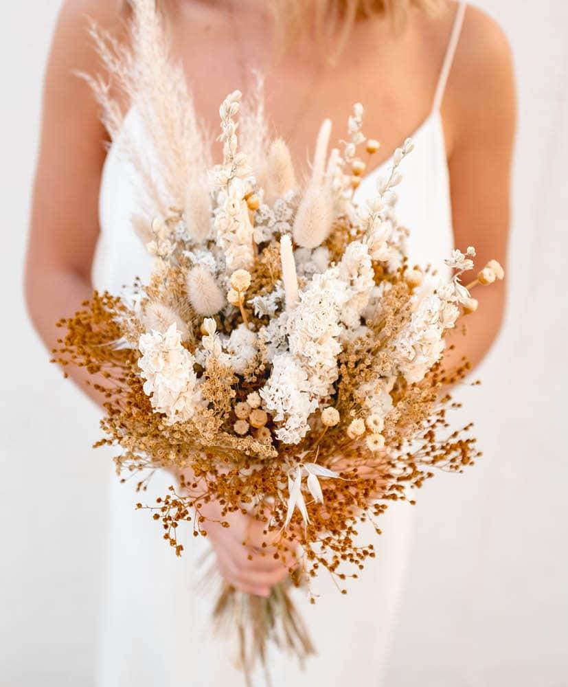 Bouquet de mariée champêtre Olga Agustina
