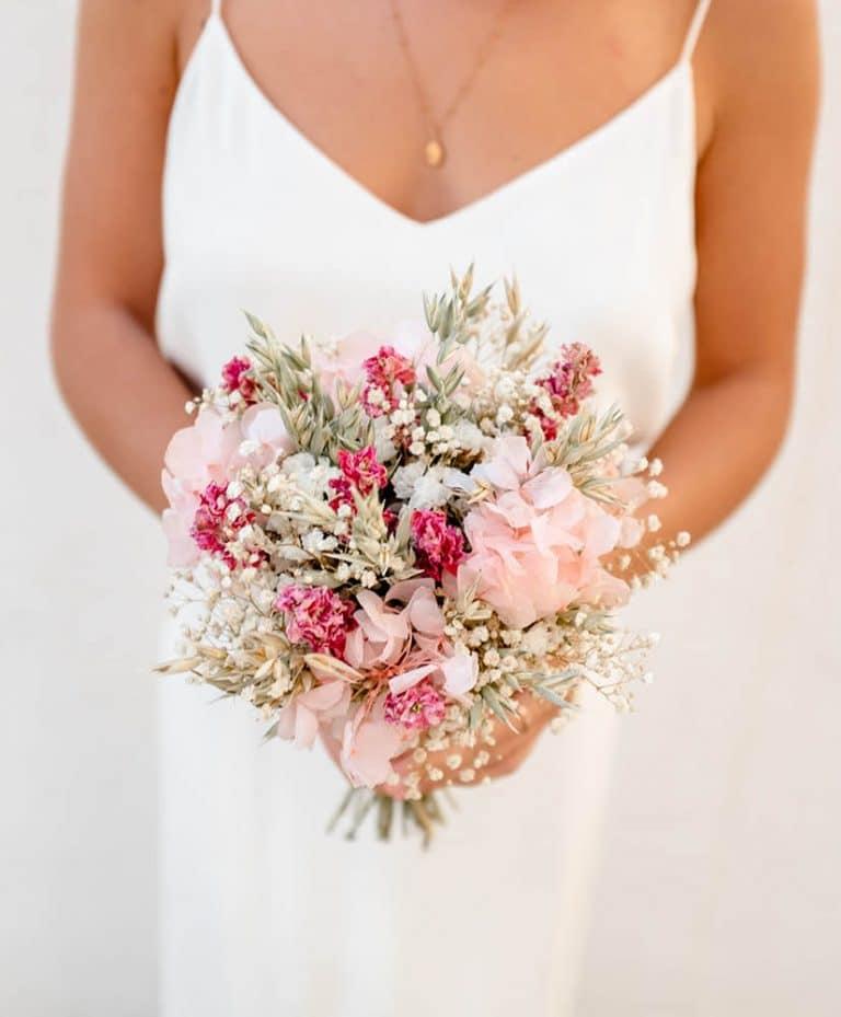 Bouquet de mariée champêtre Rosa