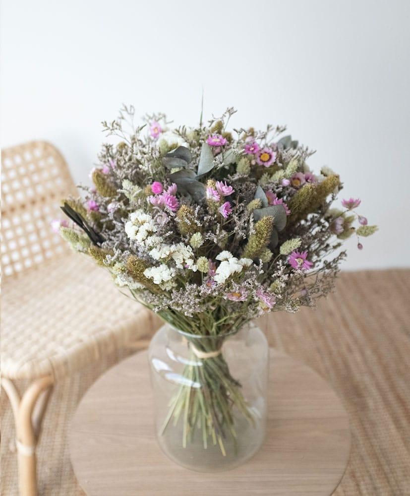 bouquet de fleurs séchées Calanans par Rosa Cadaqués