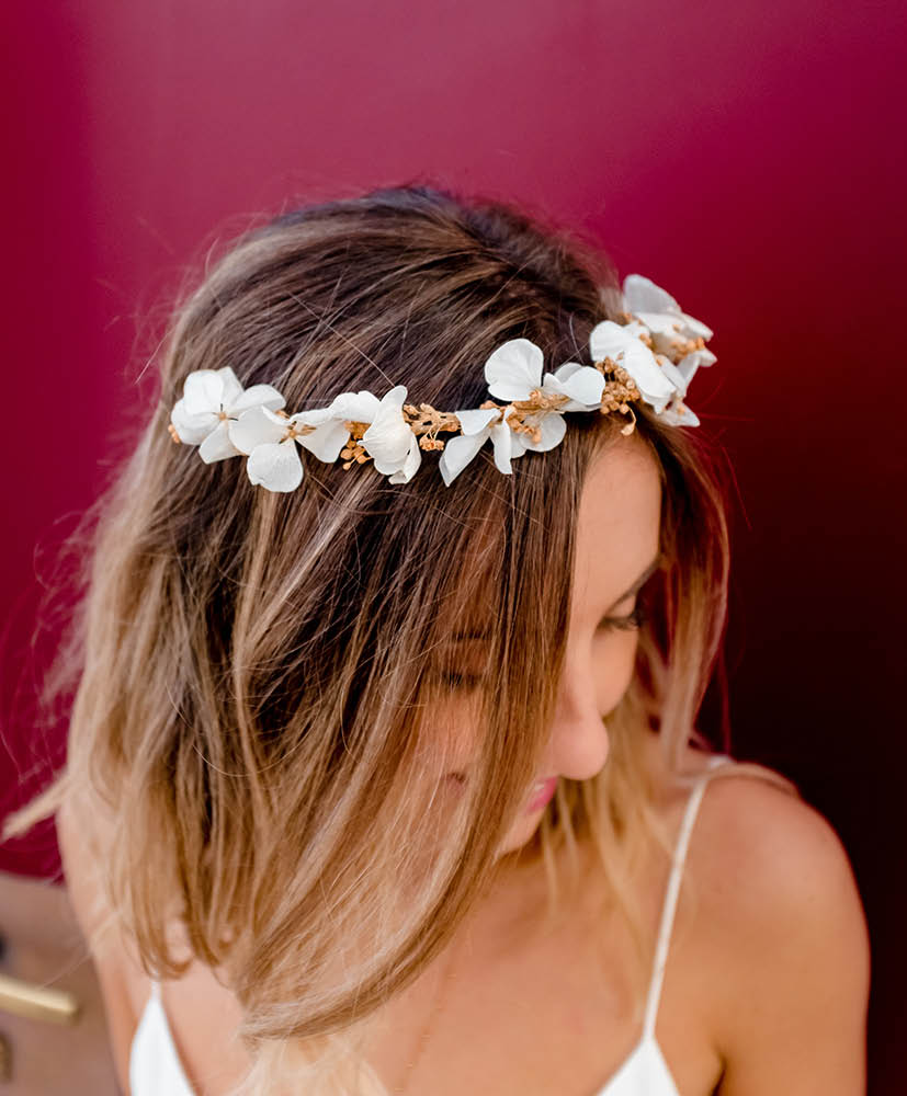 Magda flower crown