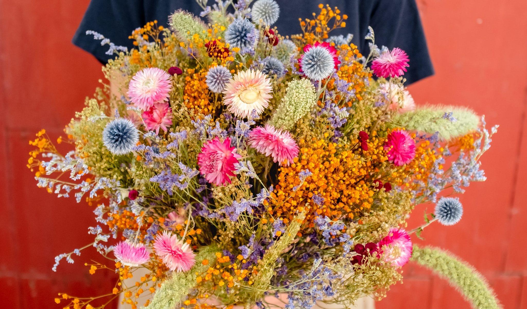 Bouquet de fleurs séchées par Rosa Cadaqués