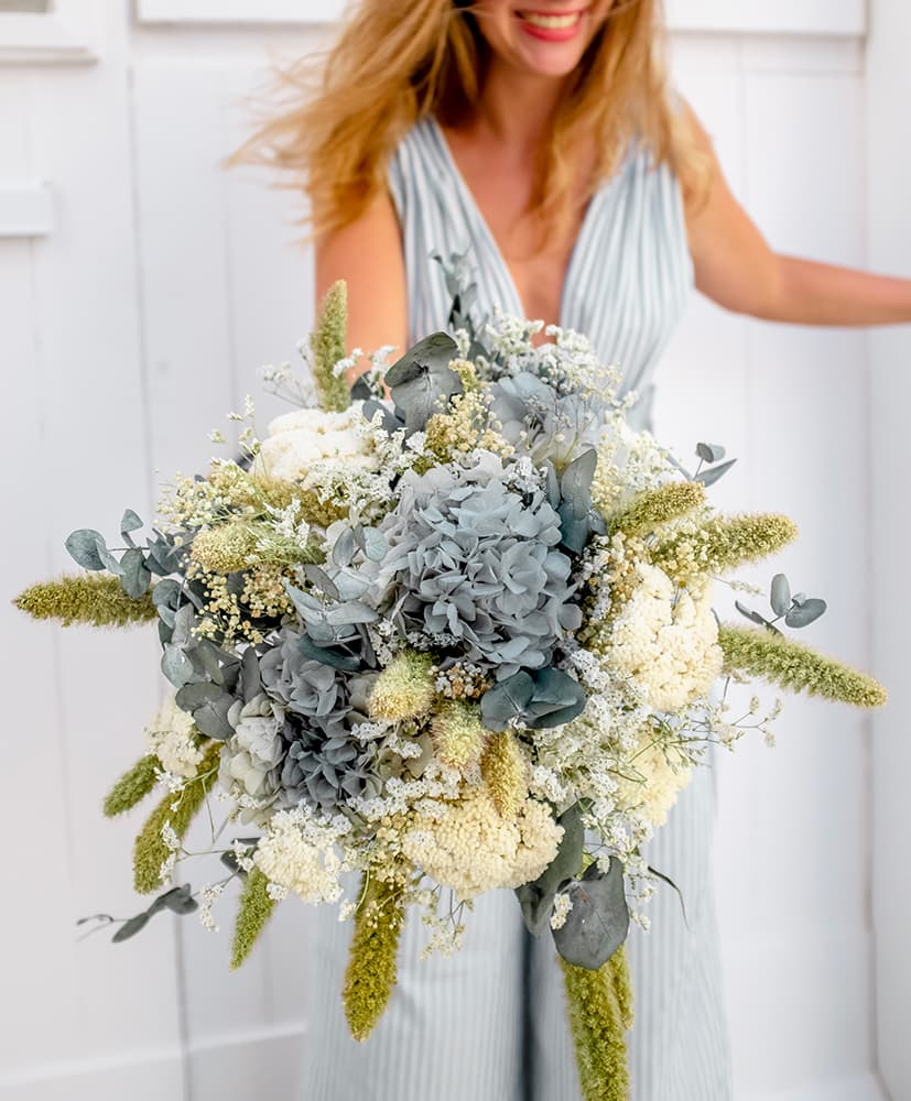 Bouquet de fleurs séchées Cala Fornells