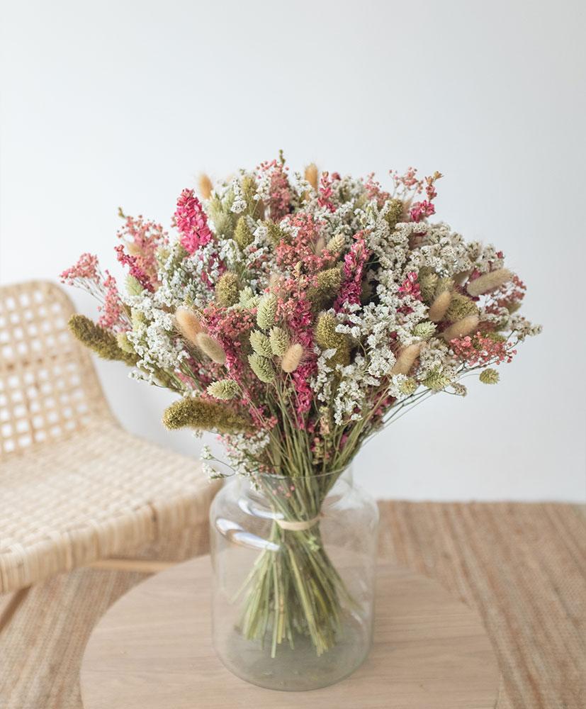 bouquet de fleurs séchées Escala par Rosa Cadaqués
