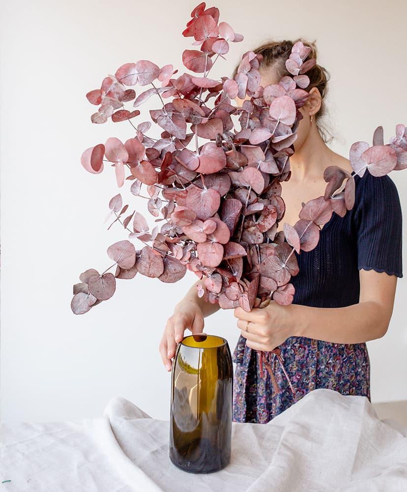 eucalyptus séché et stabilisé par Rosa Cadaqués