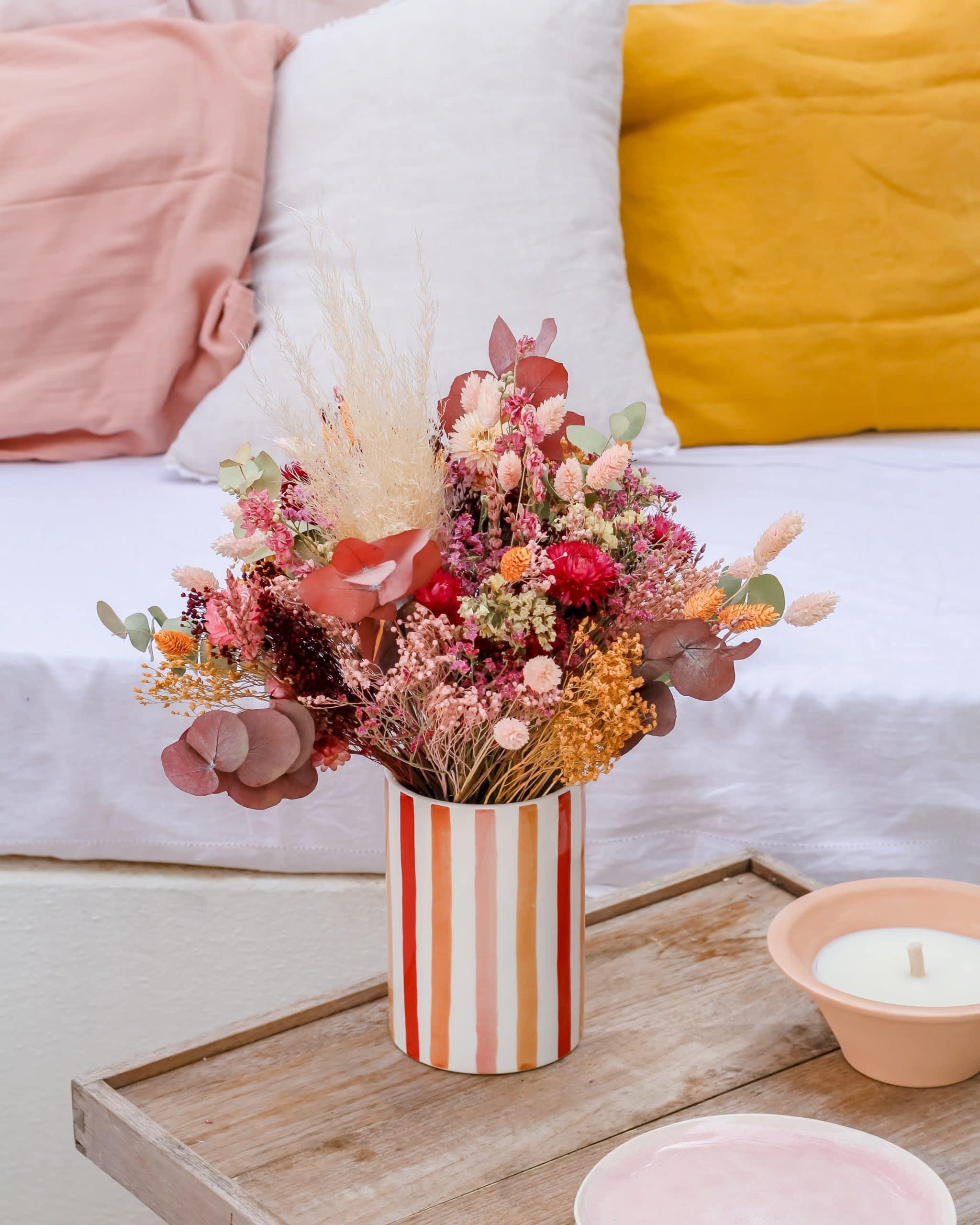 bouquet de fleurs séchées Rosa Cadaqués
