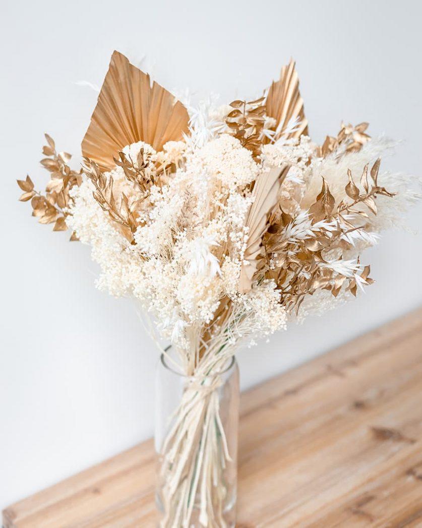 Bouquet de Noel en fleurs séchées