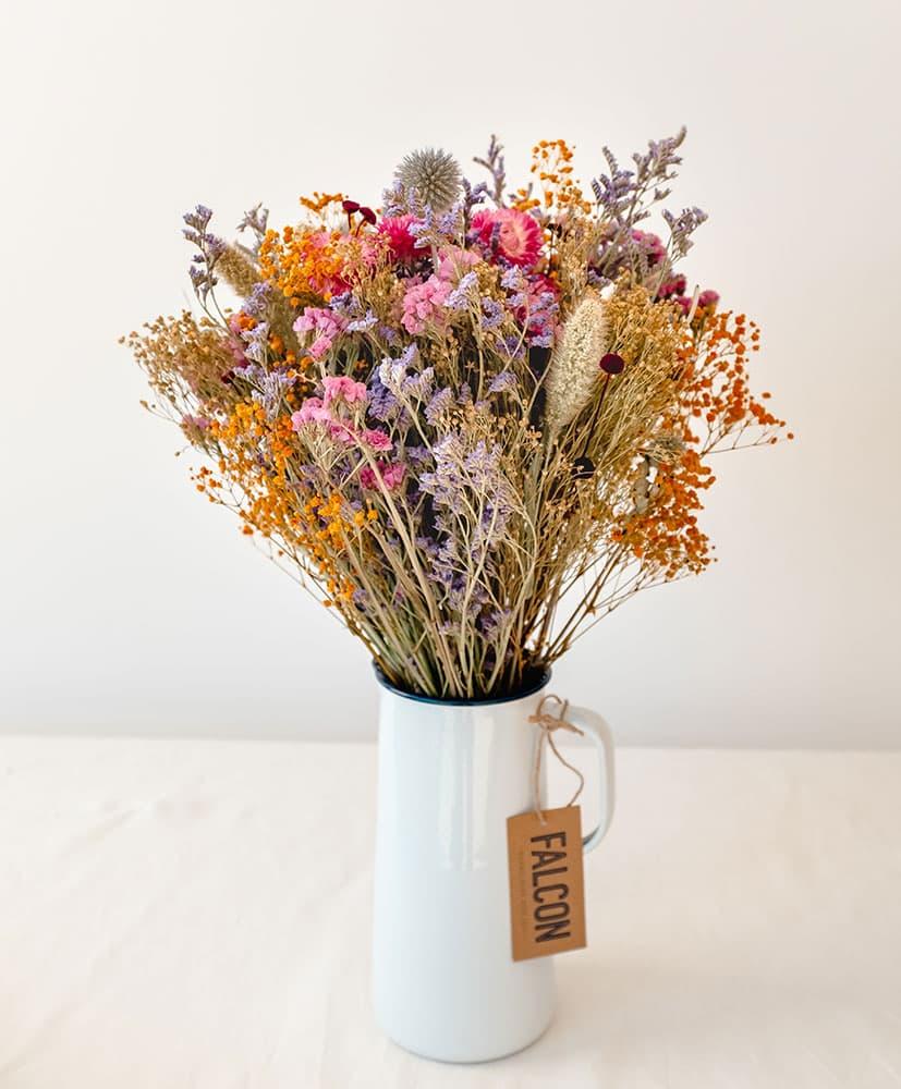 Falcon carafe vase