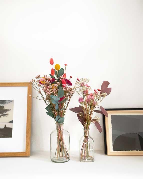 Soliflores fleurs séchées Cala Serena Rosa Cadaqués