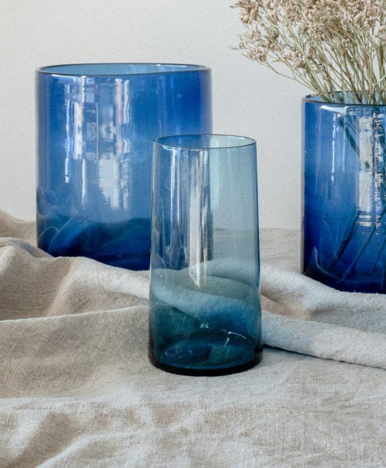 Vase azul