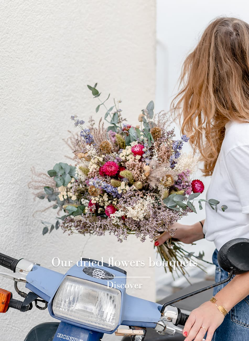 Rosa Cadaques Your Dried Flower Shop Delivery In Europe