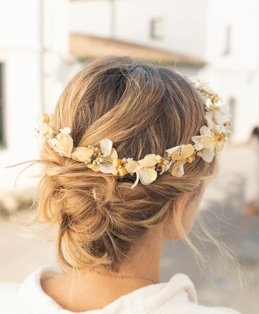 Olga Agustina Flower Crown -