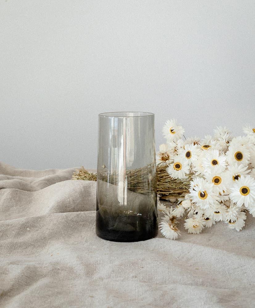 Fleurs séchées d'acroclinium blanches