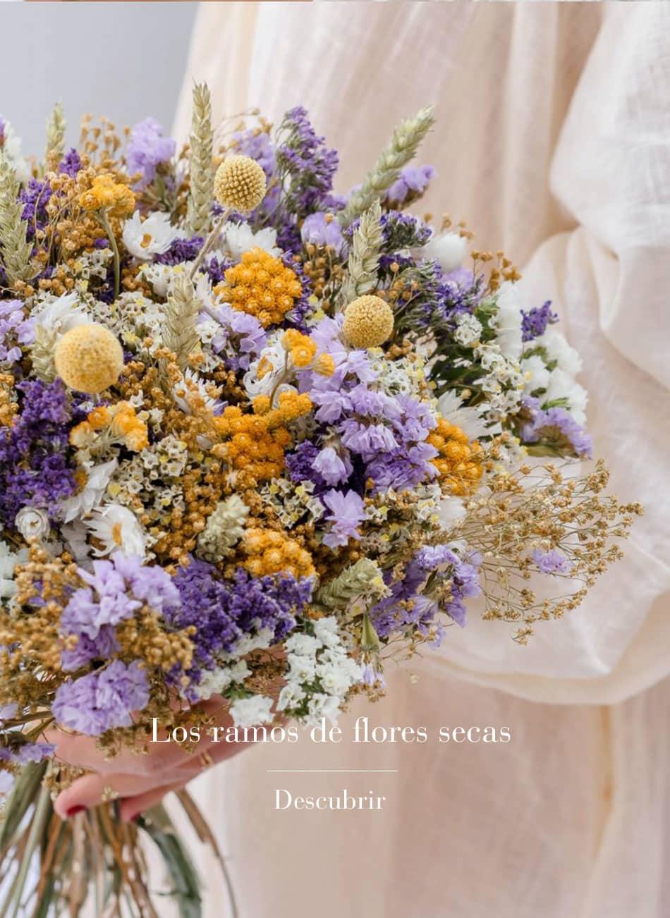 Bouquet de fleurs séchées Calabona