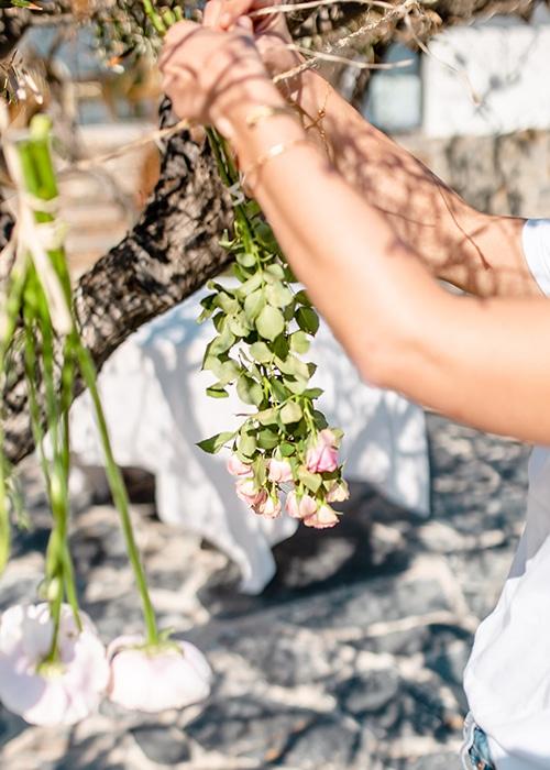 faire sécher des fleurs fraiches